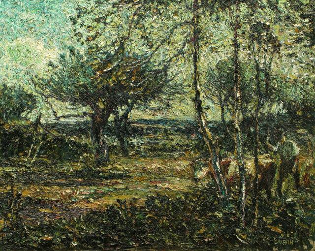 Walter Griffin, 'Morning Sunlight, Summer, Gray, Maine', 1917, Vose Galleries