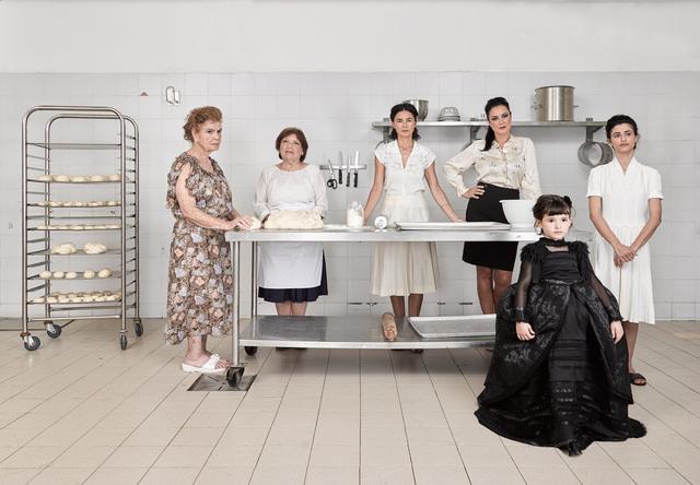 , 'Mona in a Black Dress,' 2017, Rosenfeld Gallery