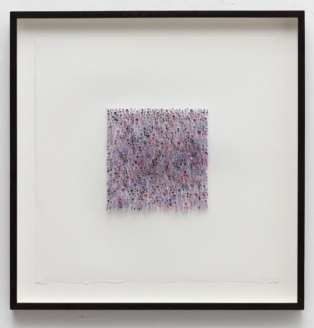 , 'Organic square#02 (purple),' 2016, Anne Mosseri-Marlio Galerie