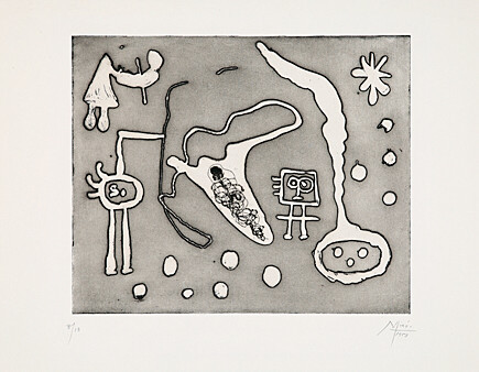 Joan Miró, 'aus Serie II', 1947, Galerie Boisseree
