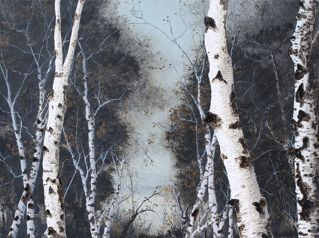 , 'Birch Grove on the Hudson #199,' 2010, Carrie Haddad Gallery