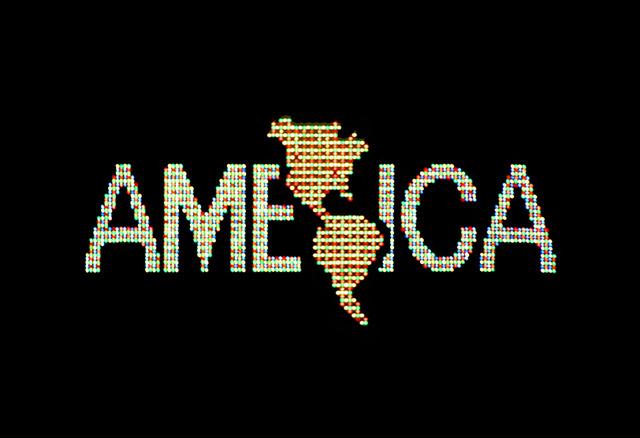 Alfredo Jaar, 'A Logo for America,' 1987, Guggenheim Museum