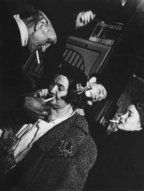 , 'Sammy's Bar,' 1945, Bruce Silverstein Gallery