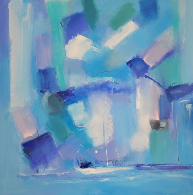 , 'Dancing With Blue,' 2017, Vitavie Gallery