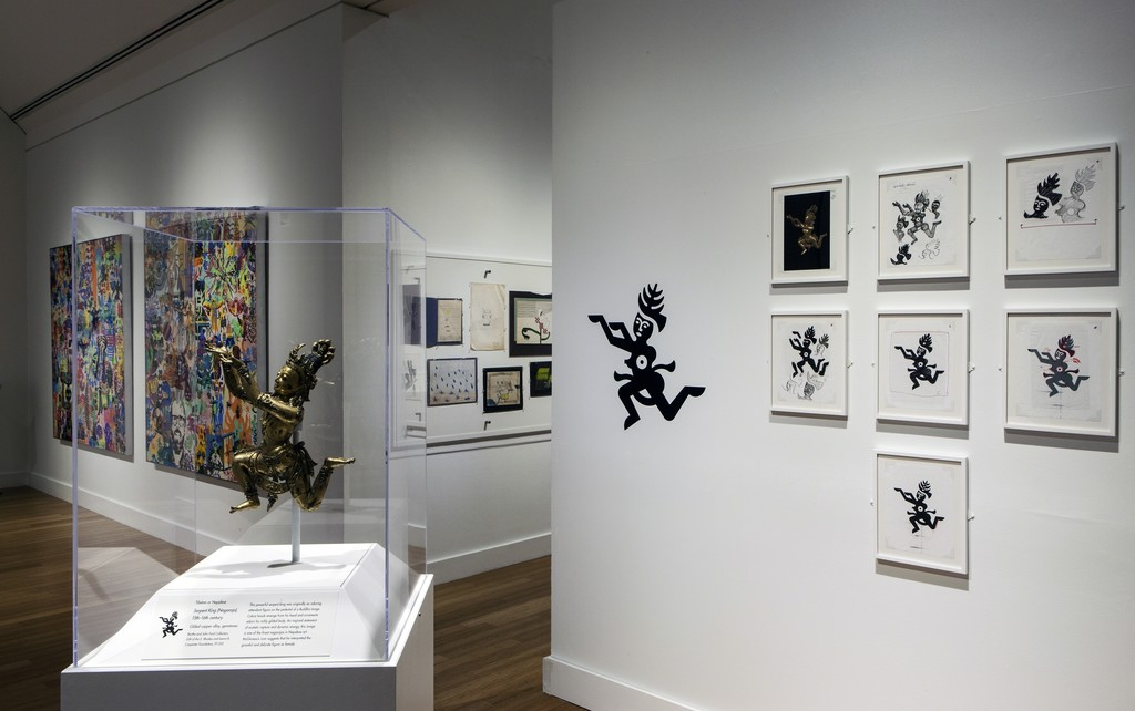 Ryan McGinness: Studio Visit, Installation View at Virginia MOCA. Art © 2014 Ryan McGinness / Artists Rights Society