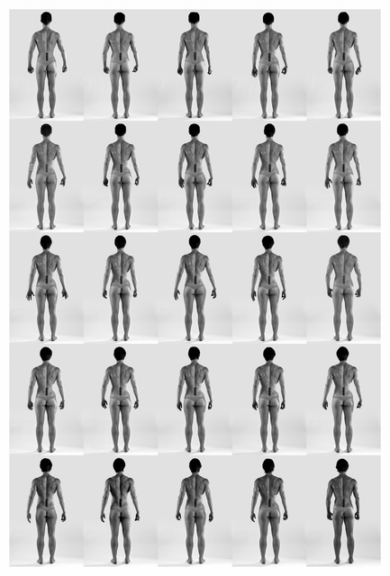 Cassils, 'Time Lapse', 2011, Photography, 4 archival pigment prints, Ronald Feldman Gallery