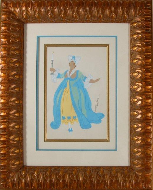 Erté (Romain de Tirtoff), 'Madame De Chateaubedeau', ca. 1935, Joseph Grossman Fine Art Gallery