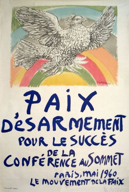 , 'Paix Disarmement-Peace,' 1960, ArtWise