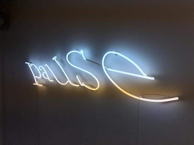 , 'Pause,' 2014, Galerie Les filles du calvaire