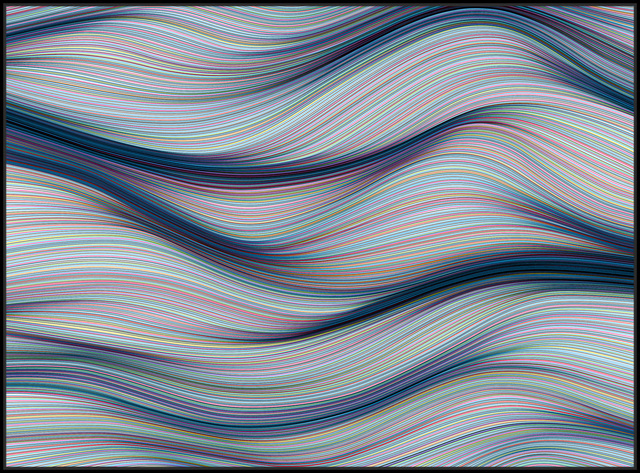 , 'Twists & Turns,' 2018, StolenSpace Gallery