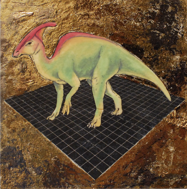 , 'Tropical Parasaurolophus,' 2019, Deep Space Gallery