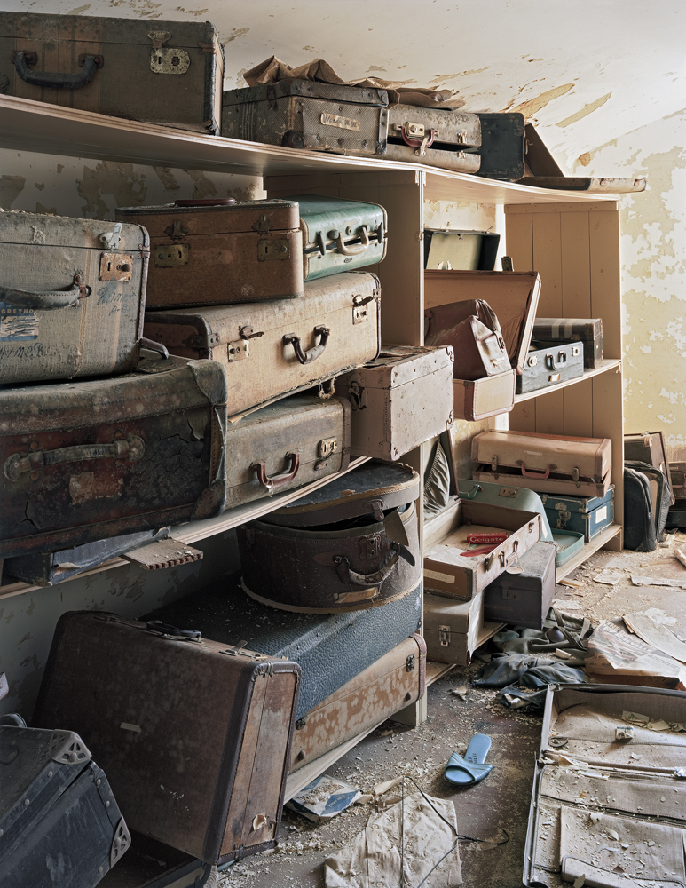 Patient Suitcases in Ward Attic, Bolivar State Hospital, Bolivar, Tennessee
