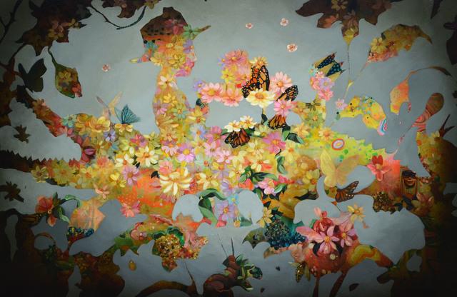 , 'Feasting On Flowers,' 2018, Hall Spassov Gallery