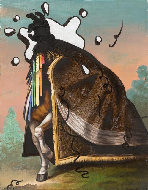 , 'untitled (cloak),' 2018, Galerie Kleindienst