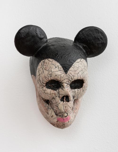 , 'Large Mickey Skull,' 2018, Eutectic Gallery