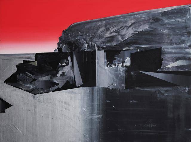 Phil Ashcroft, 'Blue Lagoon Abereiddy 1', 2019, Painting, Acrylic on canvas, Fousion Gallery