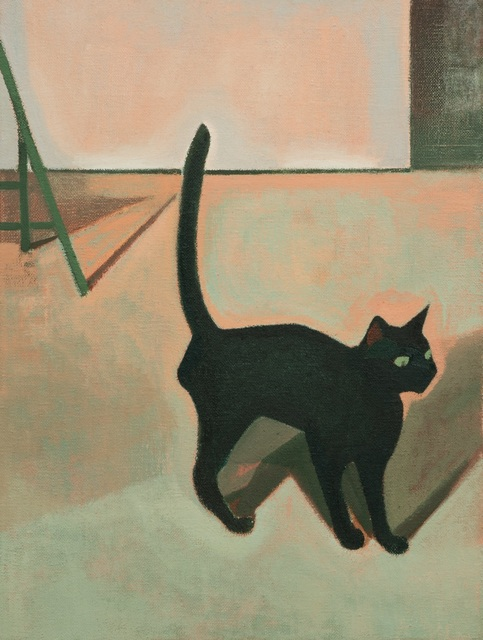 , 'Black Cat,' 2017, Vanguard Gallery