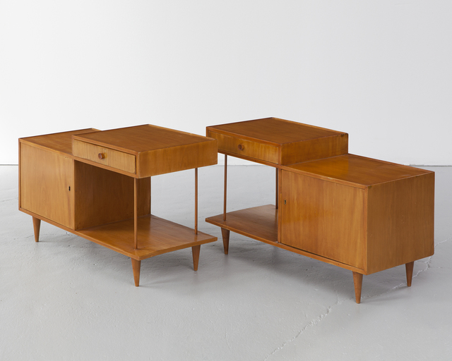 Joaquim Tenreiro, 'Pair of side tables,' ca. 1950, R & Company