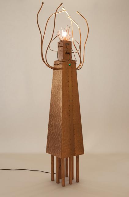 , 'Copper Conductor floor light,' 1989, Magen H Gallery