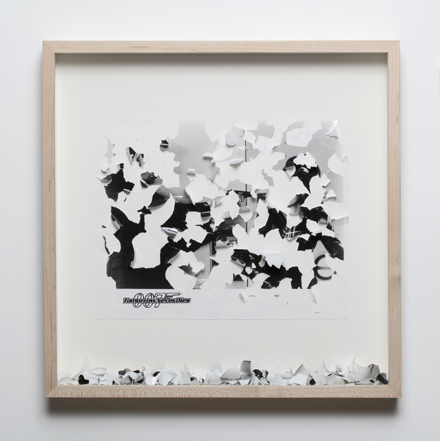 , 'Tomorrow never dies,' 2012, Sicardi Gallery