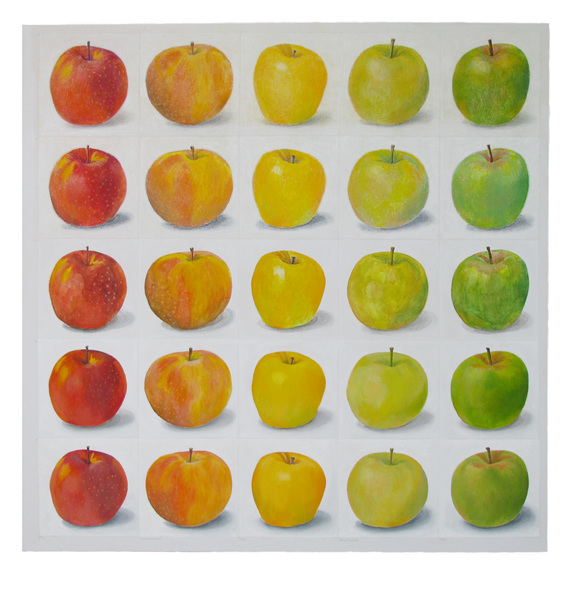 , 'Apples Red to Green,' 2017, David Barnett Gallery