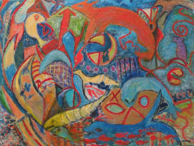 , 'Numinous Legend V,' , Walter Wickiser Gallery