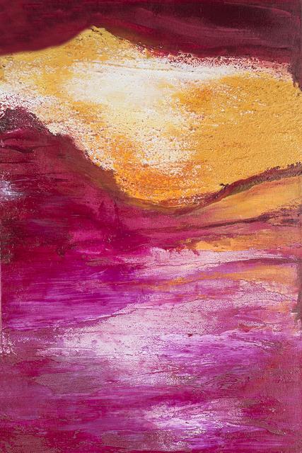 , 'Desert Sunset,' 2017, Bitfactory Gallery