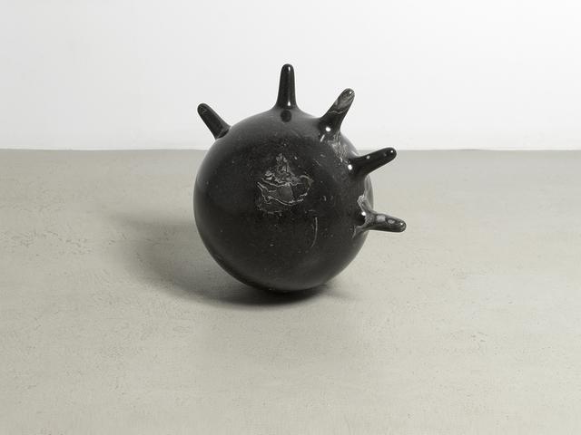 , 'Black limestone glove,' 2018, Simone Subal
