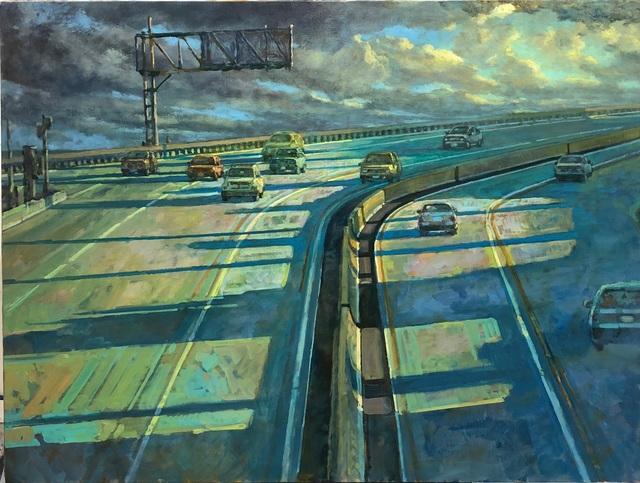 , 'Freeway 2,' 2018, George Billis Gallery