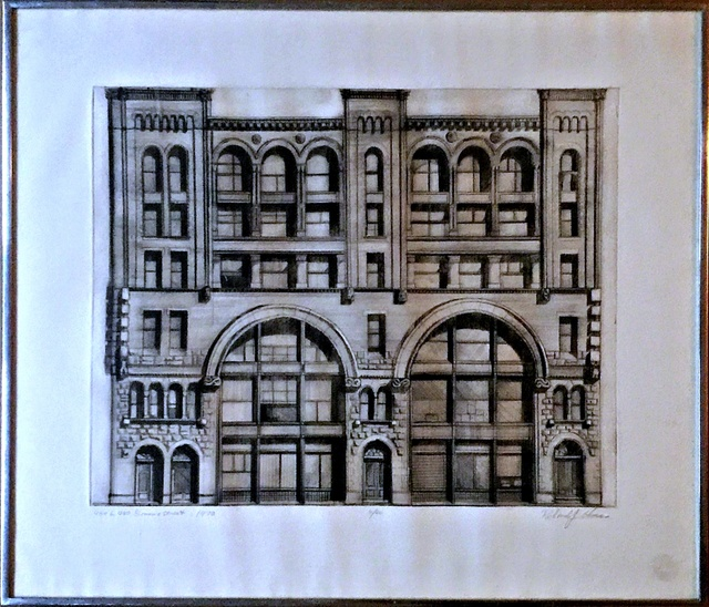 Richard Haas, '484-90 Broome Street  -First State (Charles Cowles Collection)', 1970, Alpha 137 Gallery
