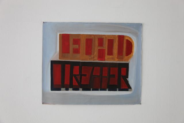 , 'Leopold Trepper,' 2016, Ignacio Liprandi Arte Contemporáneo