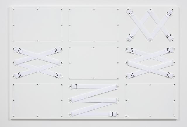 , 'Nine Panel White,' 2017, Steve Turner
