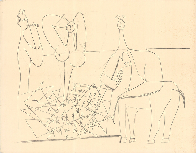 Pablo Picasso, 'Mes Dessins D'Antibes', 1958, ArtWise