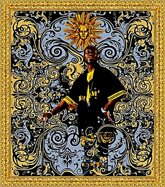 Kehinde Wiley, 'Andries Stilte, Beach Towel', ca. 2008, Alpha 137 Gallery Auction