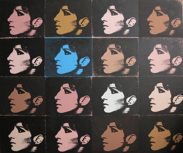 Deborah Kass, '16 Barbras (Jewish Jackie Series)', 1992, Terenchin