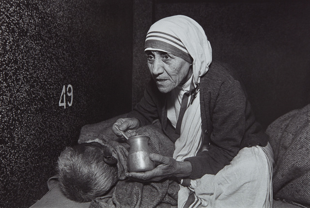 Mary Ellen Mark, 'Mother Teresa Feeding a Man at the Home For the Dying, Calcutta, India', 1980, Phillips