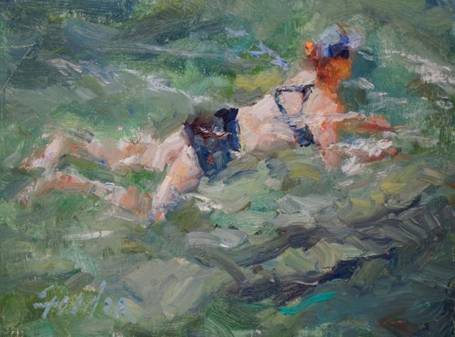 , 'Barton Swimmer ,' 2017, Wally Workman Gallery