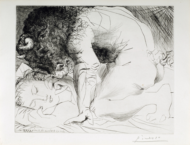 Pablo Picasso, 'Minotaure Caressant une Dormeuse', 1933, Odon Wagner Gallery