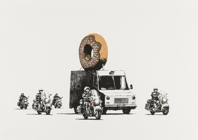 Banksy, 'Donuts (Chocolate)', 2009, Forum Auctions