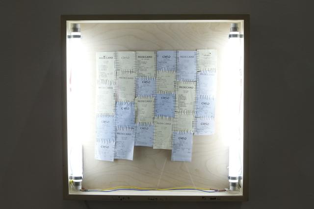 , 'Sumidouro: R$ 3.000,62,' 2012, Baró Galeria