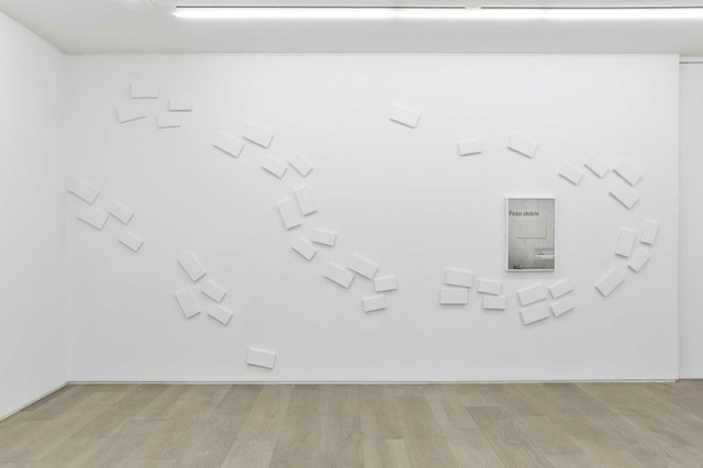 Claude Rutault, 'definition/method. paso doble', 1995, Painting, Paint on canvas, poster / variable dimensions according to the actualization, Perrotin