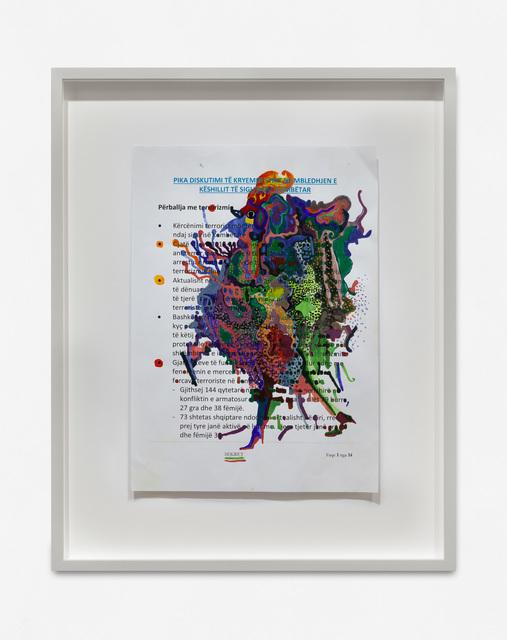 , 'Untitled,' 2018, carlier   gebauer