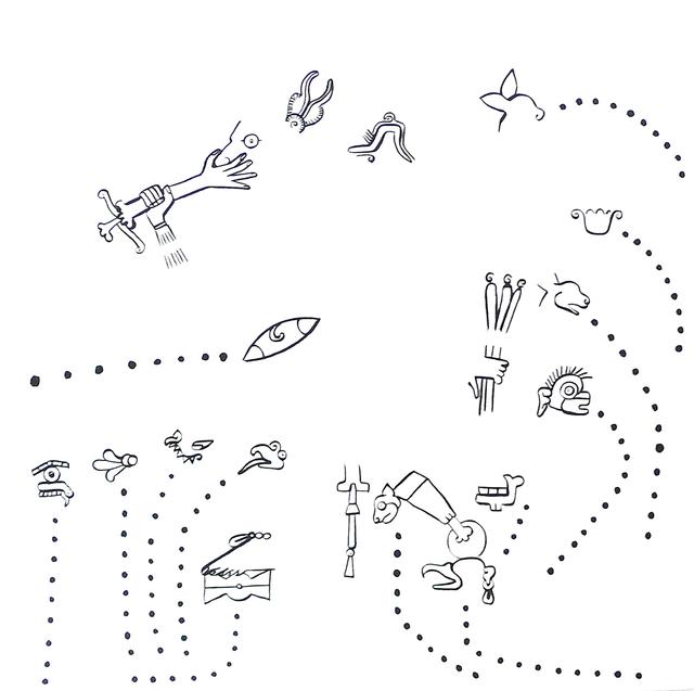 , 'Cada parte de mi cuerpo se despide, cumple una función distinta,' 2011, Barbara Wien