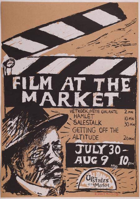 , 'Film at the Market,' 1986, Sylvan Cole Gallery