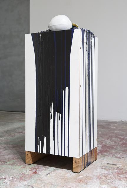 , 'Imploded Ball Barf (thomas the train),' 2011, Nina Johnson
