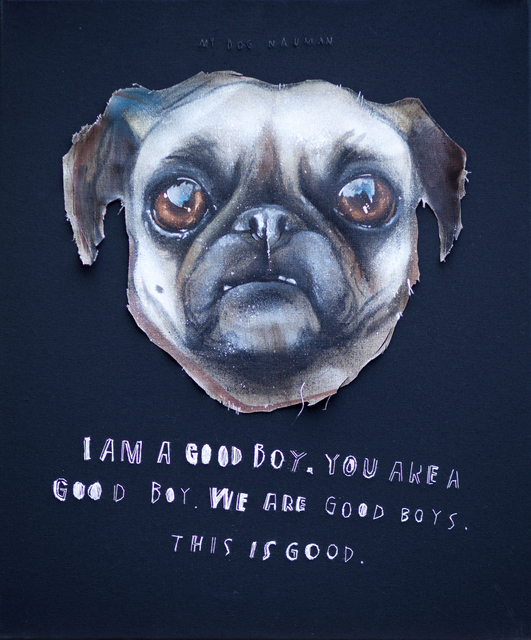 , 'I Am A Good Boy,' 2013, MUCA