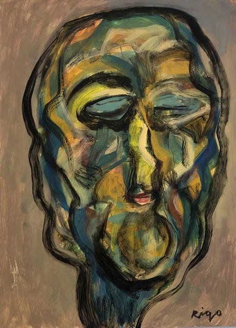 Rigo (José Rigoberto Rodriguez Camacho), 'Head 2 No. 2', ca. 2019, Thomas Nickles Project