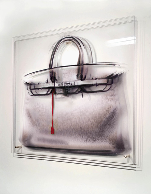 , 'BLOODY BAG,' 2015, Mark Hachem Gallery