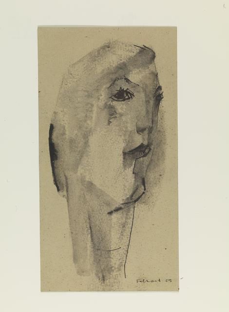 , 'Head,' 1955, Pangolin