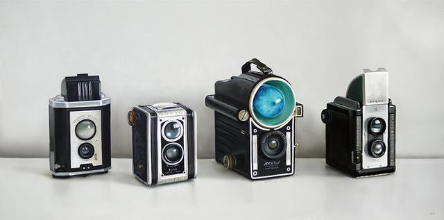 Christopher Stott, 'Four Vintage Cameras', 2016, George Billis Gallery